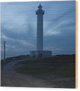 Lighthouse In Okinawa Japan Wood Print
