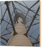 Lighthouse Marblehead Wood Print