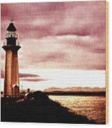 Lighthouse Park Wood Print