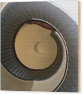 Cabrillo Spiral Staircase Wood Print