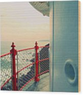 Lighthouse View Wood Print