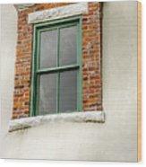 Lighthouse Windows Wood Print