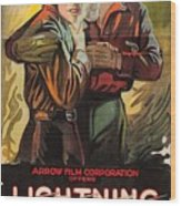 Lightning Bryce 1919 Wood Print