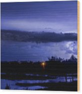Lightning Thunderstorm July 12 2011 St Vrain Wood Print