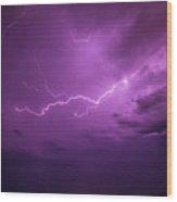 Lightning Totalitty 001 Wood Print