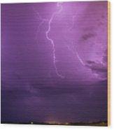 Lightning Totalitty 002 Wood Print