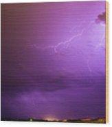 Lightning Totalitty 003 Wood Print