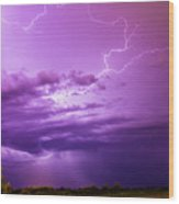 Lightning Totalitty 004 Wood Print