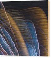 Lightpainting II Wood Print