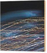 Lights Abstract06 Wood Print