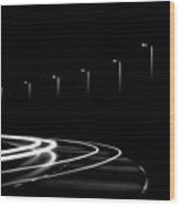Lights In The Night Wood Print by Gert Lavsen