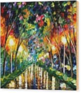 Lights Of Hope Wood Print