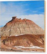 Like A Mound Of Prehistoric Mud Wood Print