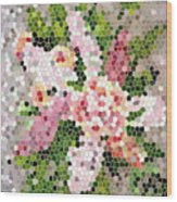 Lilac Bouquet II  Wood Print