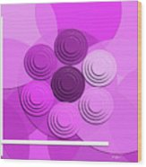 Lilac Bouquet Wood Print