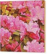 Lilac Candy Wood Print