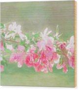 Lilacs In Sunshine Wood Print