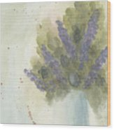 Lilacs Wood Print by Ken Powers