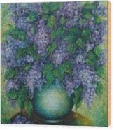 Lilacs No 2. Wood Print