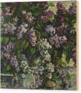 Lilacs Wood Print by Tigran Ghulyan
