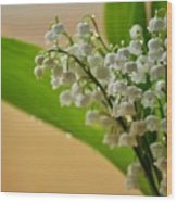 Lilies Of The Valley 1 Wood Print