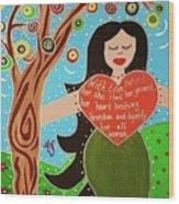 Lilith II Wood Print