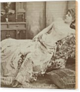 Lillie Langtry (1852-1929) Wood Print