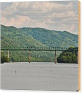 Lilly Bridge - Hinton West Virginia Wood Print