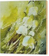 Lilly Of The Valley Wood Print