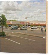 Lilongwe City Mall Wood Print