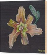 Lily 2 Wood Print