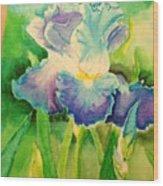 Lily Flower  Wood Print