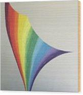 Lily Prism #8 Wood Print