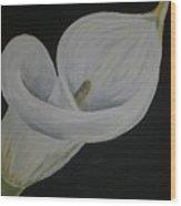 Lily Three Wood Print