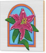 Lily Too Wood Print