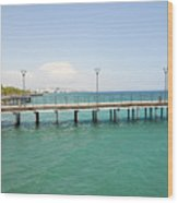 Limassol Marina  Wood Print