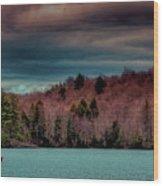 Limekiln Lake Wood Print