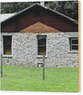 Limestone Family Home Wood Print