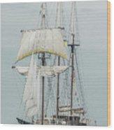 Limited Sails Wood Print
