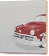Lincoln Cosmopolitan Sedan Wood Print