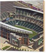 Lincoln Financial Field Philadelphia Eagles Wood Print by Duncan Pearson