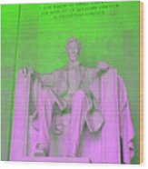 Lincoln In Green Wood Print