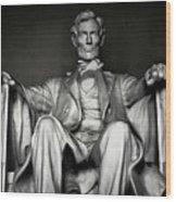 Lincoln Memorial Wood Print by Daniel Hagerman