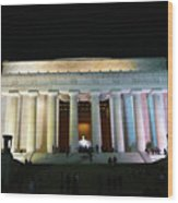 Lincoln Memorial - From Reflecting Pool Wood Print