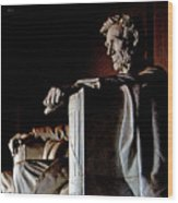 Lincoln Memorial In Washington D.c. Wood Print