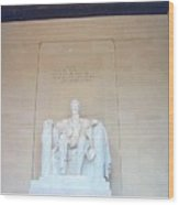Lincoln Memorial Wood Print by Kevin Croitz