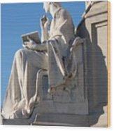lincoln statue Gettysburg PA Wood Print