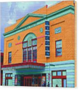 Lincoln Theatre - Dc Wood Print