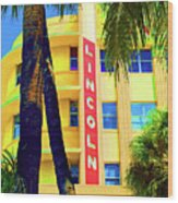 Lincoln Theatre - Sobe Wood Print