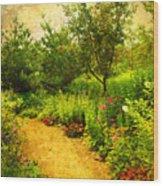 Linden Gardens 2 Wood Print